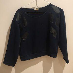 Urban outfitters/Urban Renewal Cropped Sweatshirt